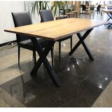 Romilly Solid Wood Dining Table by Foundry Select