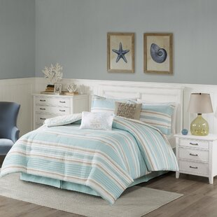 Ocean Reef Cotton 6 Piece Reversible Comforter Set