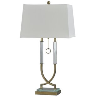 Bierce Acrylic 34 Table Lamp