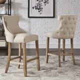 Clarice Bar & Counter Stool (Set of 2) by Kingstown Home