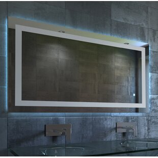 Price comparison Fosse LED Bathroom/Vanity Mirror ByBrayden Studio