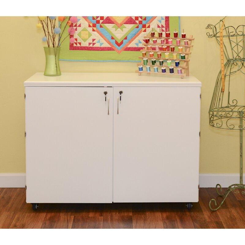 Kangaroo Cabinets Dingo Ii Nine Drawer Storage Craft Table Reviews Wayfair Ca