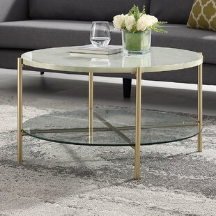 Carrillo Round Coffee Table by Wrought Studio