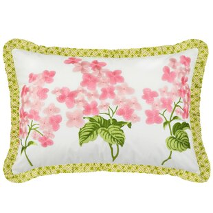 Emma's Garden Cotton Lumbar Pillow