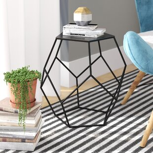 Allbright Diamond End Table by Wrought Studio