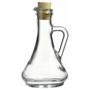Olivia Oil and Vinegar Glass Cruet (Set of 2)