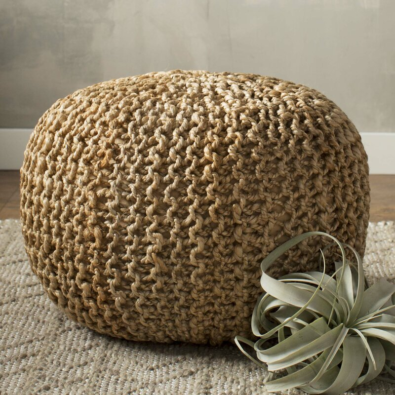 Beachcrest Home Odin Sphere Pouf Ottoman Amp Reviews Wayfair
