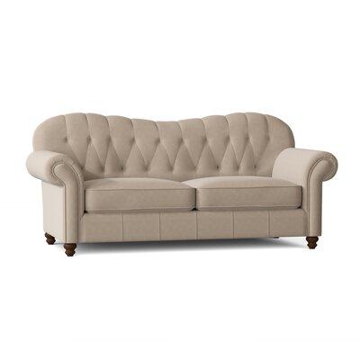 "Lucie Rolled Arm 92"""" Sofa Body Fabric: Tibby Linen -  BirchLane, 88D964313BBE4C37824EB16E5BCB36B4"