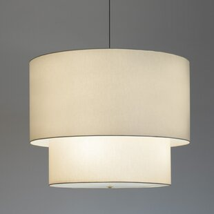 ILEX Lighting Double Drum Pendant