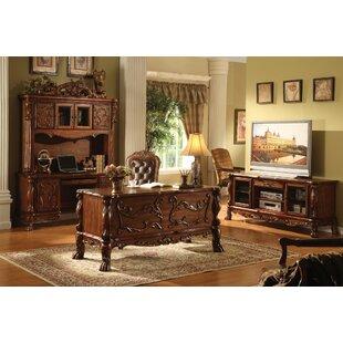 Astoria Grand Mallett Office Desk with Hutch