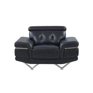 Apple by Adjustable Headrest Armchair by Orren Ellis