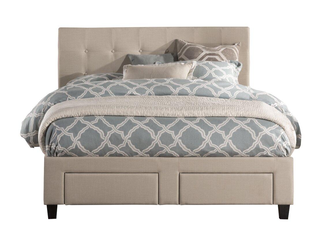 Milla Upholstered Storage Platform Bed