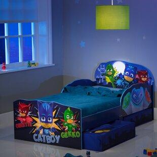 PJ Masks Toddler Bed Frame with Drawers by PJ Masks