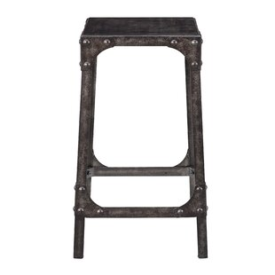 Dasia Industrial Gathering 24.25 Bar Stool (Set of 2) Williston Forge