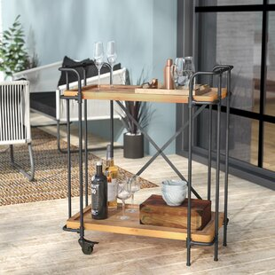 Timnath Outdoor Bar Cart b..