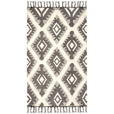 Cedarvale Hand Knotted Woolcotton Blackivory Area Rug Foundry Select Rug Size Rectangle 9 X 12