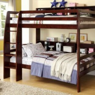 Affordable Price Northam Twin over Twin Bunk Bed with Bookcase by Harriet Bee Reviews (2019) & Buyer's Guide