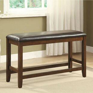 Loon Peak Cheever Counter Height Wood Bench