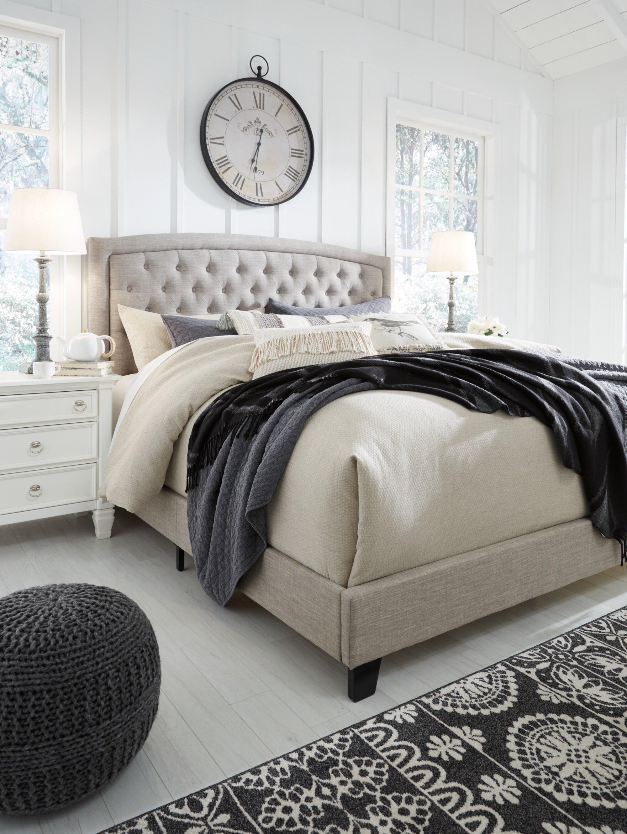 Three Posts Larios Queen Standard Configurable Bedroom Set Reviews Wayfair