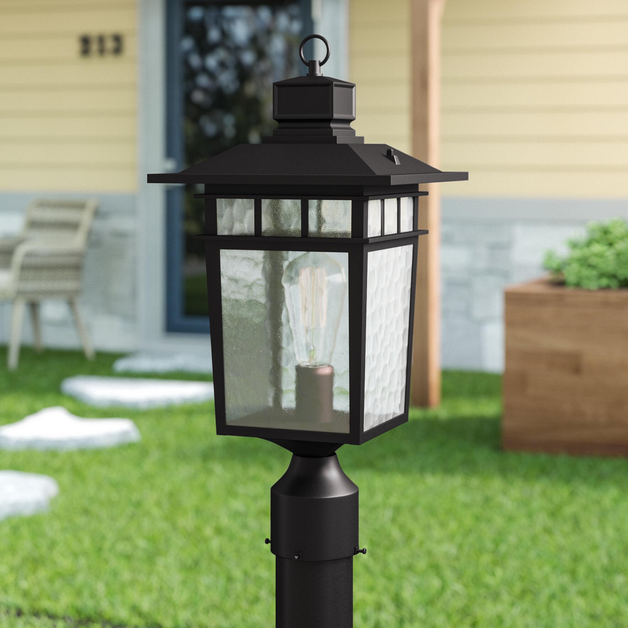 Sherly Outdoor 1 Light Lantern Head
