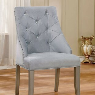 One Allium Way Arthur Upholstered Dining Chair (Set of 2)