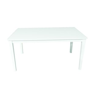 Solid Wood Dining Table by Warehouse of Tiffany No Copoun