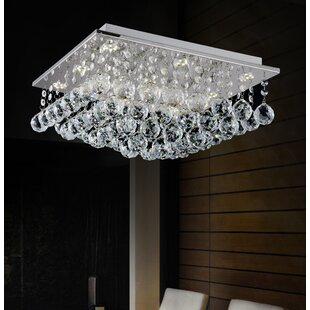Rosdorf Park Cesar 6-Light Flush Mount
