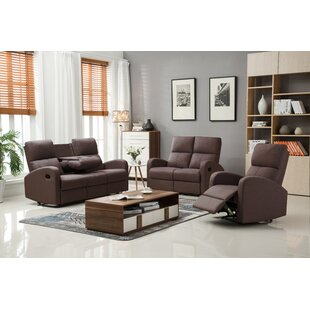 Felice Reclining Configurable Living Room Set Latitude Run