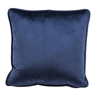 Cristobal Velvet Throw Pillow by George Oliver Amazing