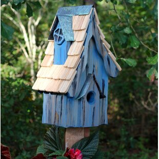 Heartwood Boyds' Bungalow 17 in x 10 in x 8 in Birdhouse