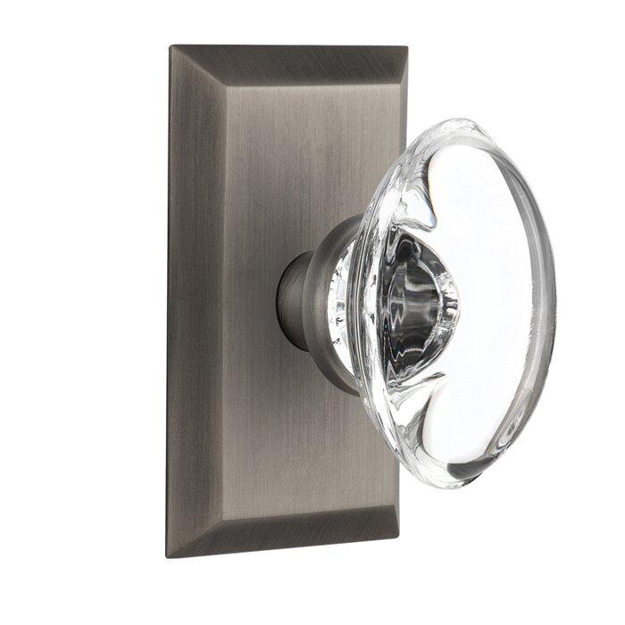 Crystal Oval Single Dummy Door