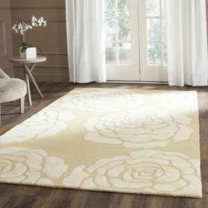 Martins Light Gold/Ivory Area Rug