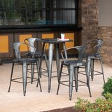 Granberry 40 Bar Stool (Set of 4) by Gracie Oaks