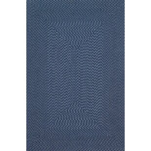 Daniell Hand-Woven Navy Indoor/Outdoor Area Rug