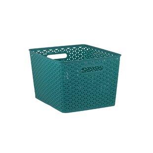 Extra Large Woven Storage Plastic Basket