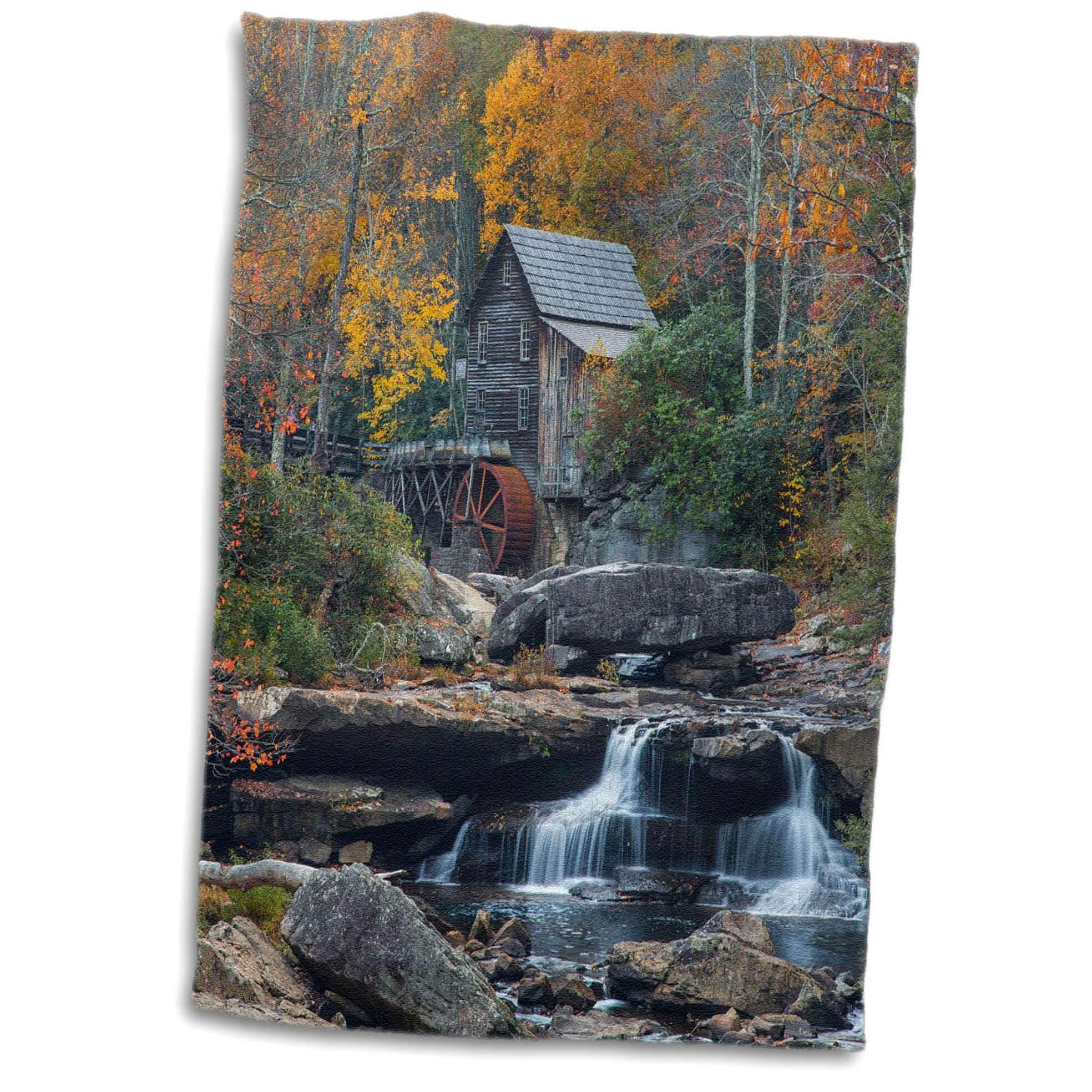 East Urban Home Adalyn The Historic Grist Mill On Glade Creek Babcock Sp West Virginia Usa Hand Towel Wayfair