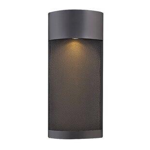Brayden Studio Proulx Modern 1-Light Outdoor Sconce