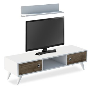 Cotton Entertainment Unit For TVs Up To 88