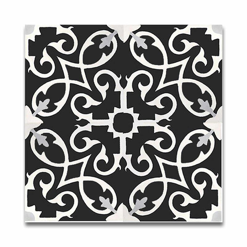 Black And White Tile Floor | Wayfair