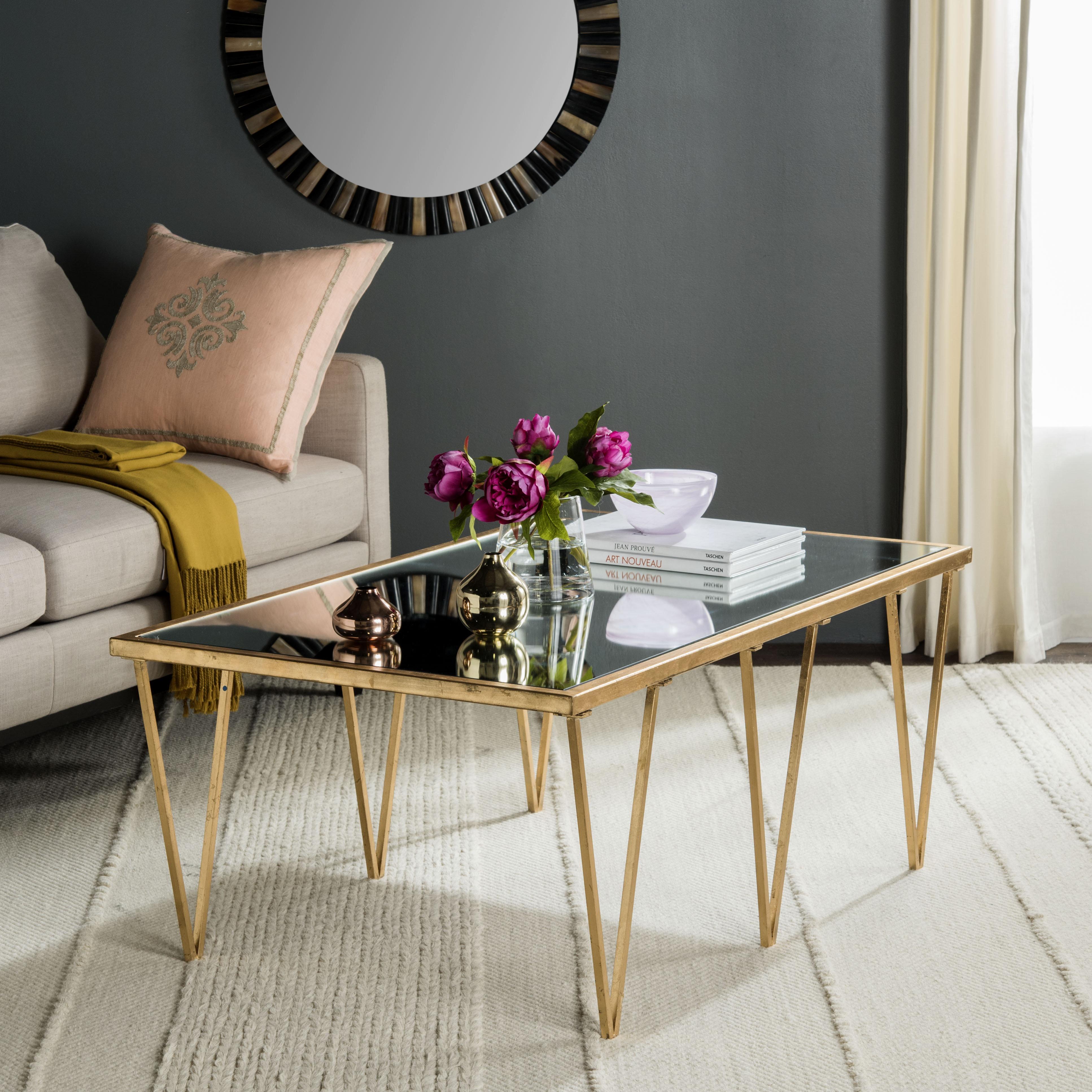 Willa Arlo Interiors Rex Trestle Coffee Table Reviews Wayfair