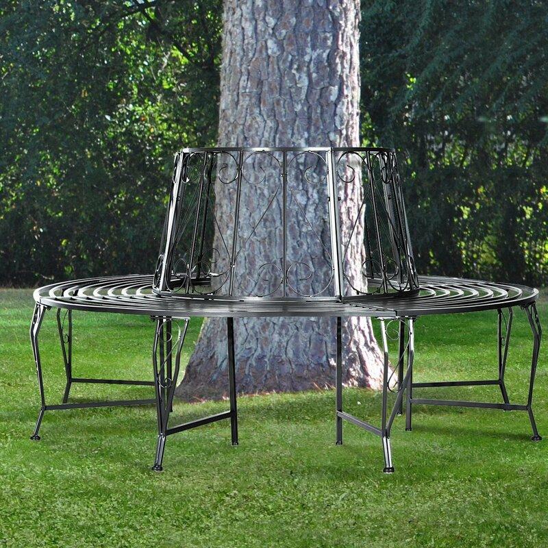 bel tage bankbaum outdoor garten aus eisen. Black Bedroom Furniture Sets. Home Design Ideas