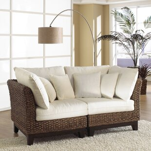 Sanibel Modular Loveseat by Panama Jack Sunroom Best Choices