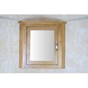 Cota 44 X 52cm Corner Mount Mirror Cabinet By Belfry Bathroom