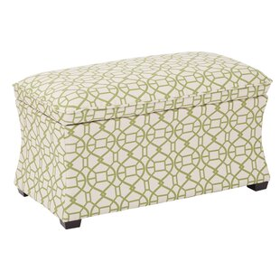 Morgan Noah Hourglass Storage Ottoman