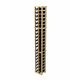 Wine Cellar Innovations Rustic Pine 42 Bottle Wall Mounted Wine Rack
