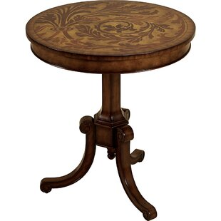 Aged Regency End Table