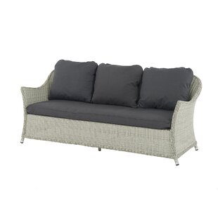 Ridgewood 3 Seater Garden Sofa With Cushion Image