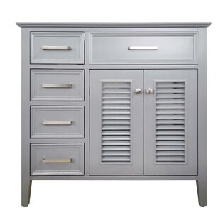 Ferree Right Offset 37 Single Bathroom Vanity Base by Highland Dunes