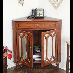 Hagans 2 Door Corner Accent Cabinet by Breakwater Bay
