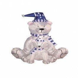 christmas inflatable polar bears decoration - Polar Bear Inflatable Christmas Decorations